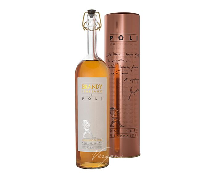 Italian brandy di Poli